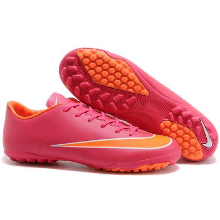 Сороконожки Nike mercurial, розовый